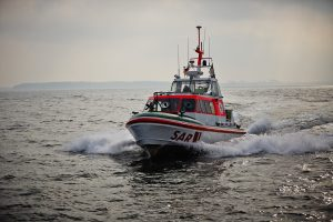 Kraftvoll, wendig und außerordentlich seetüchtig sind auch die kleinen Einheiten der DGzRS-Rettungsflotte.